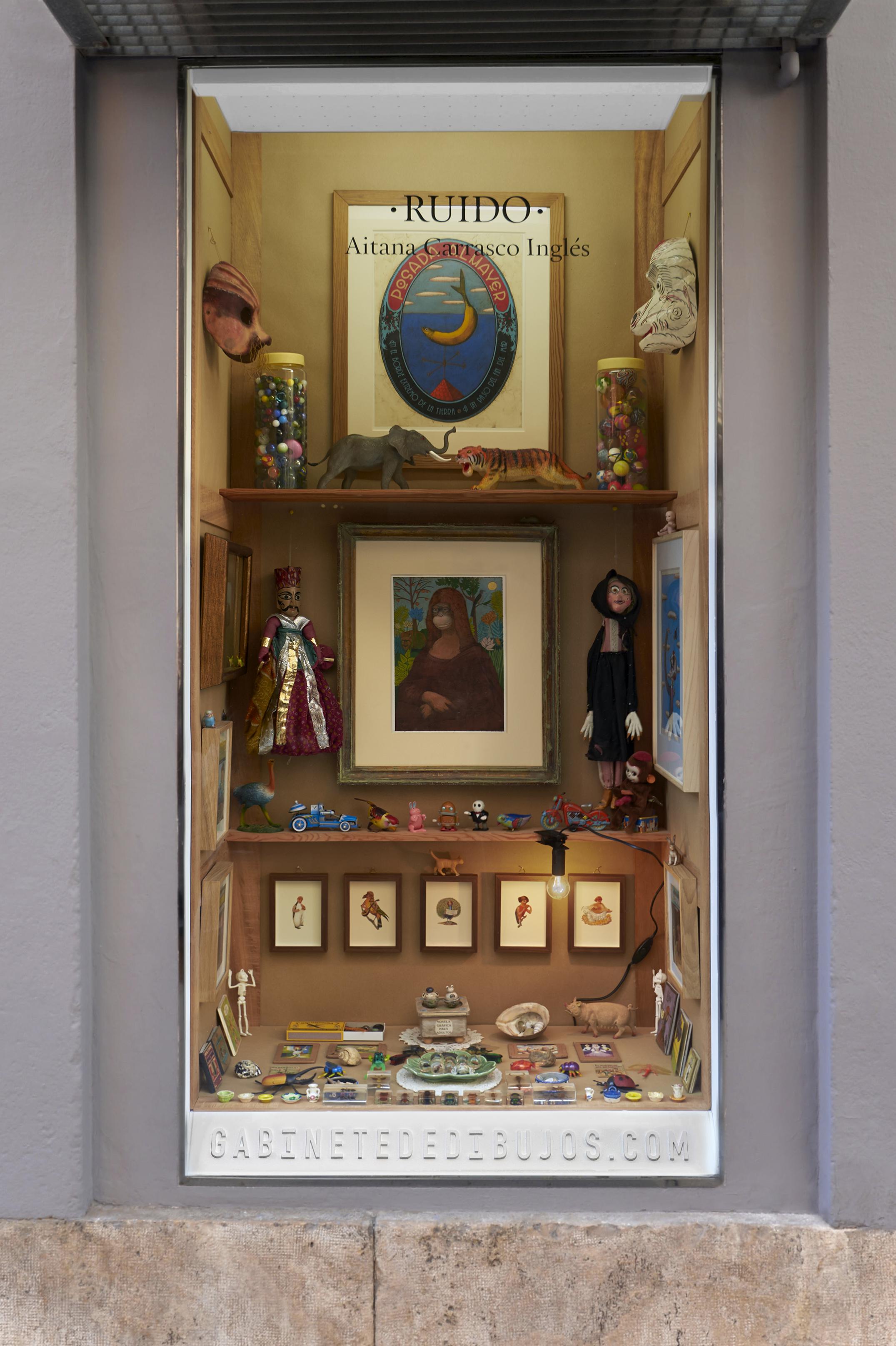 RUIDO de Aitana Carrasco en el Gabinete de dibujos