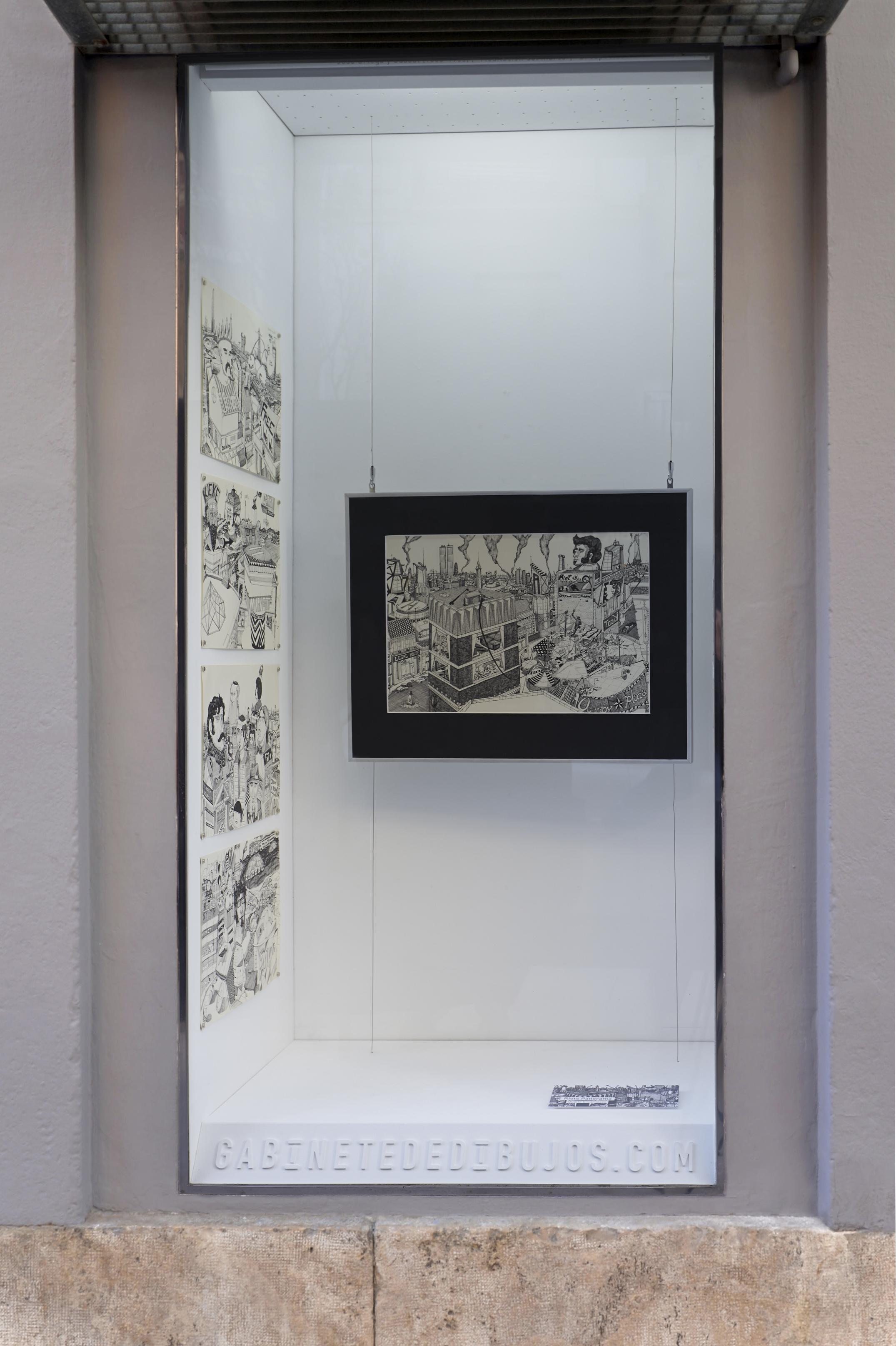 RIOTS PANORAMA de Duarte Encarnaçao en el Gabinete de dibujos