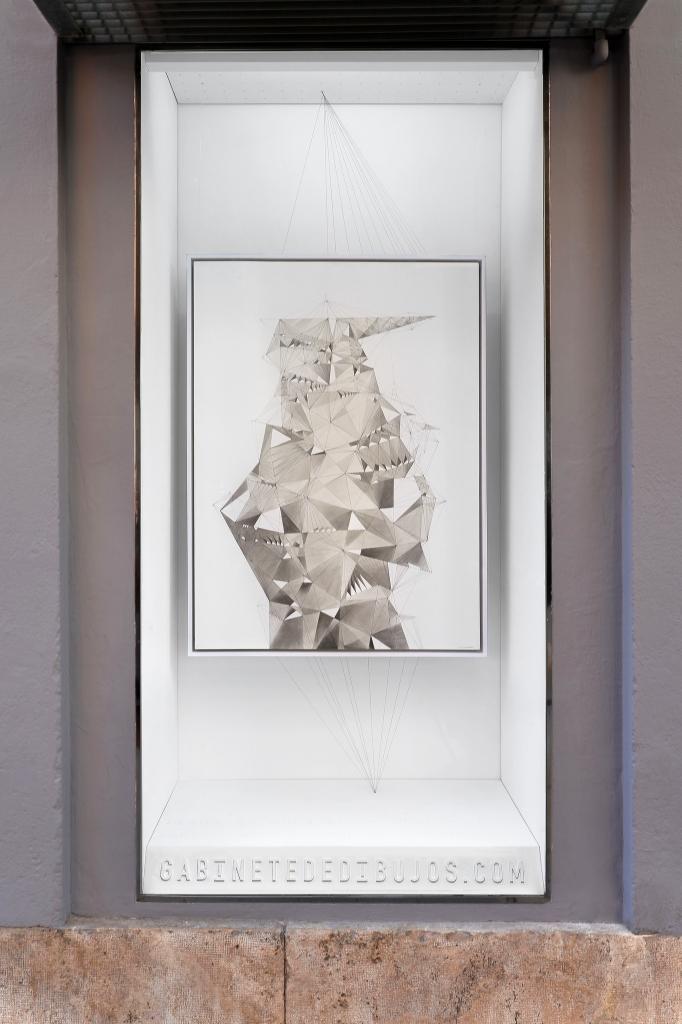 CARTOGRAFÍAS DEL ESPACIO IMAGINARIO de González Torremocha en el Gabinete de dibujos