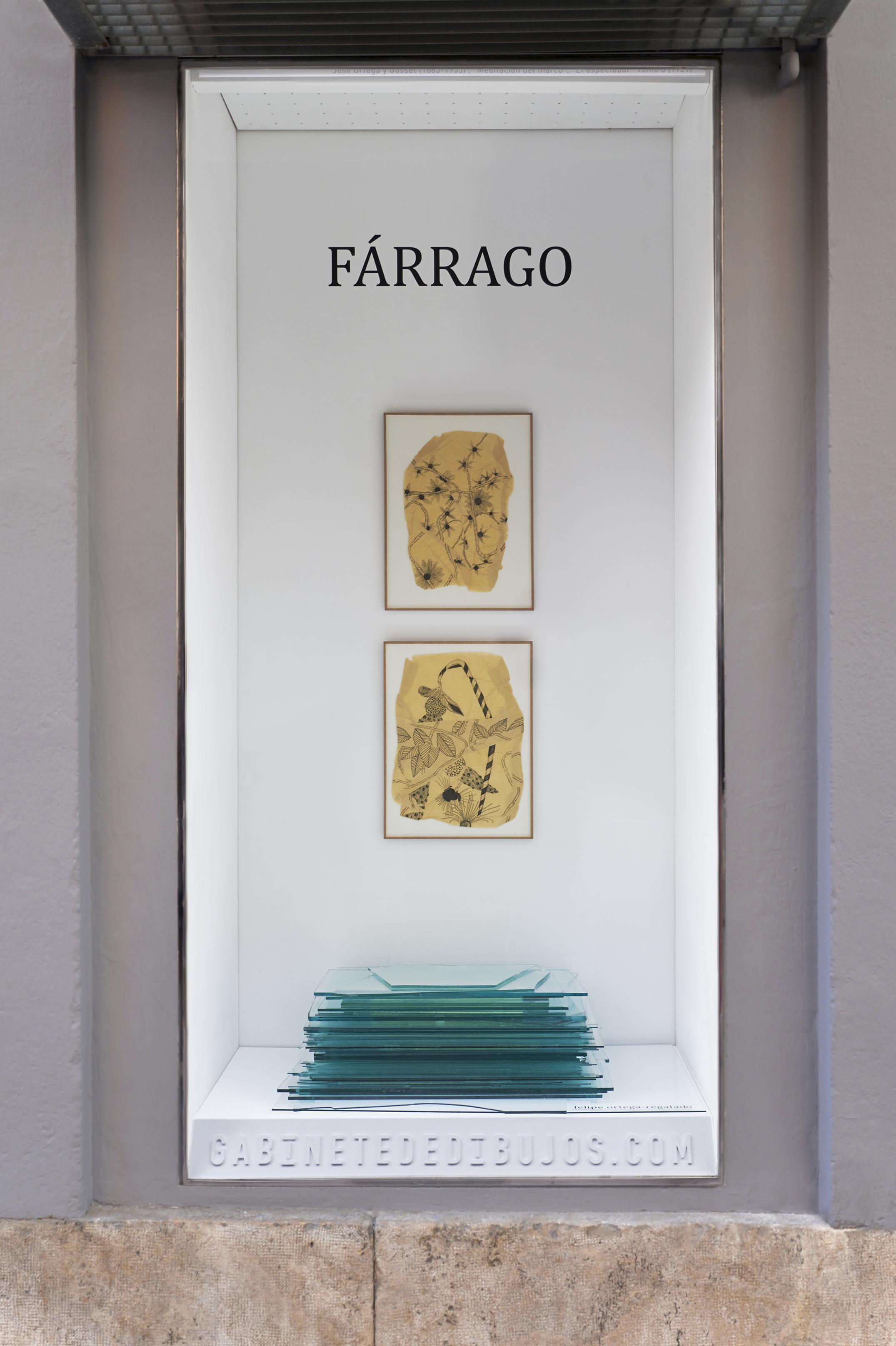 FÁRRAGO de Felipe Ortega-Regalado en el Gabinete de dibujos