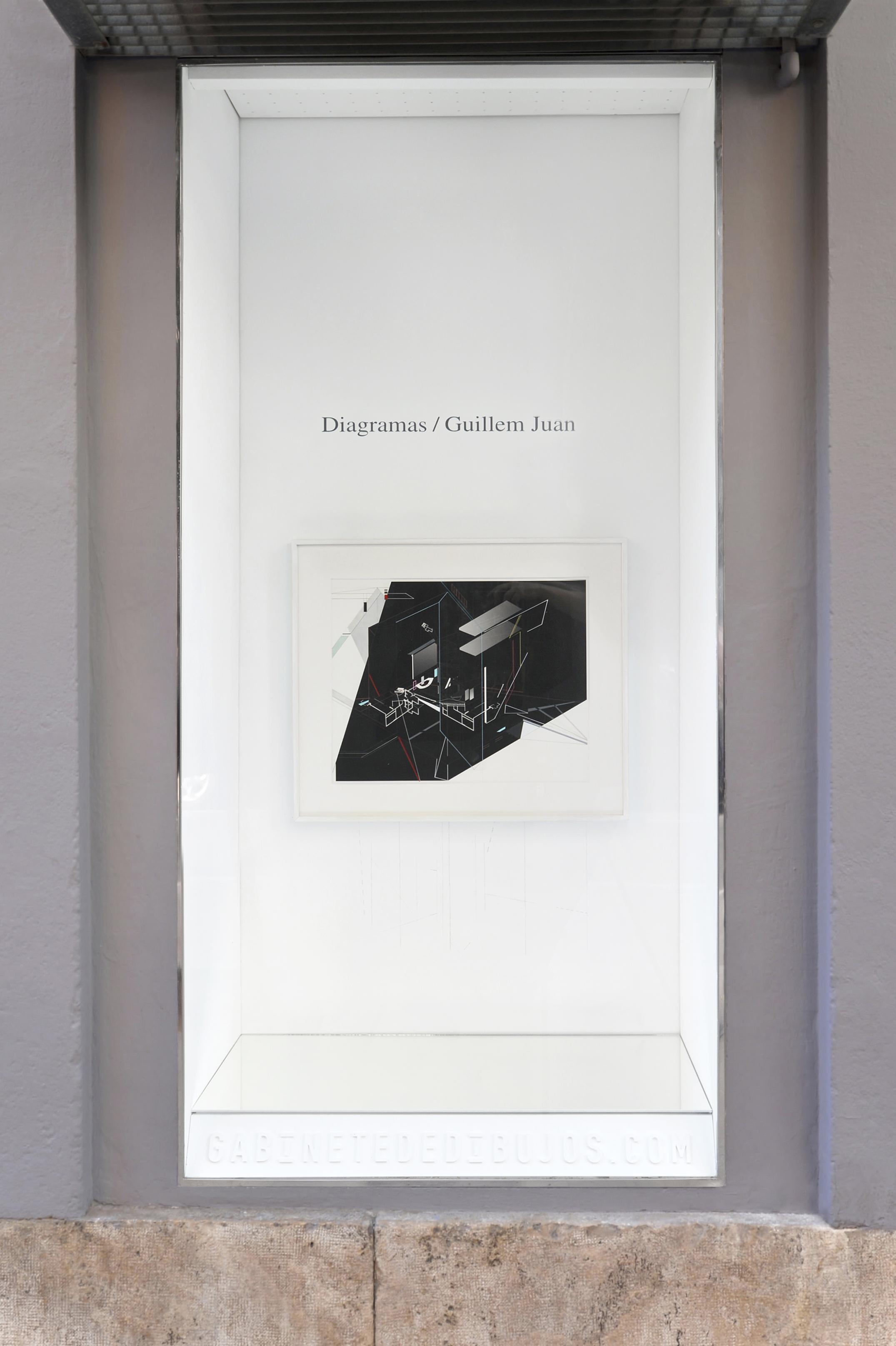 DIAGRAMAS de Guillem Juan en el Gabinete de dibujos