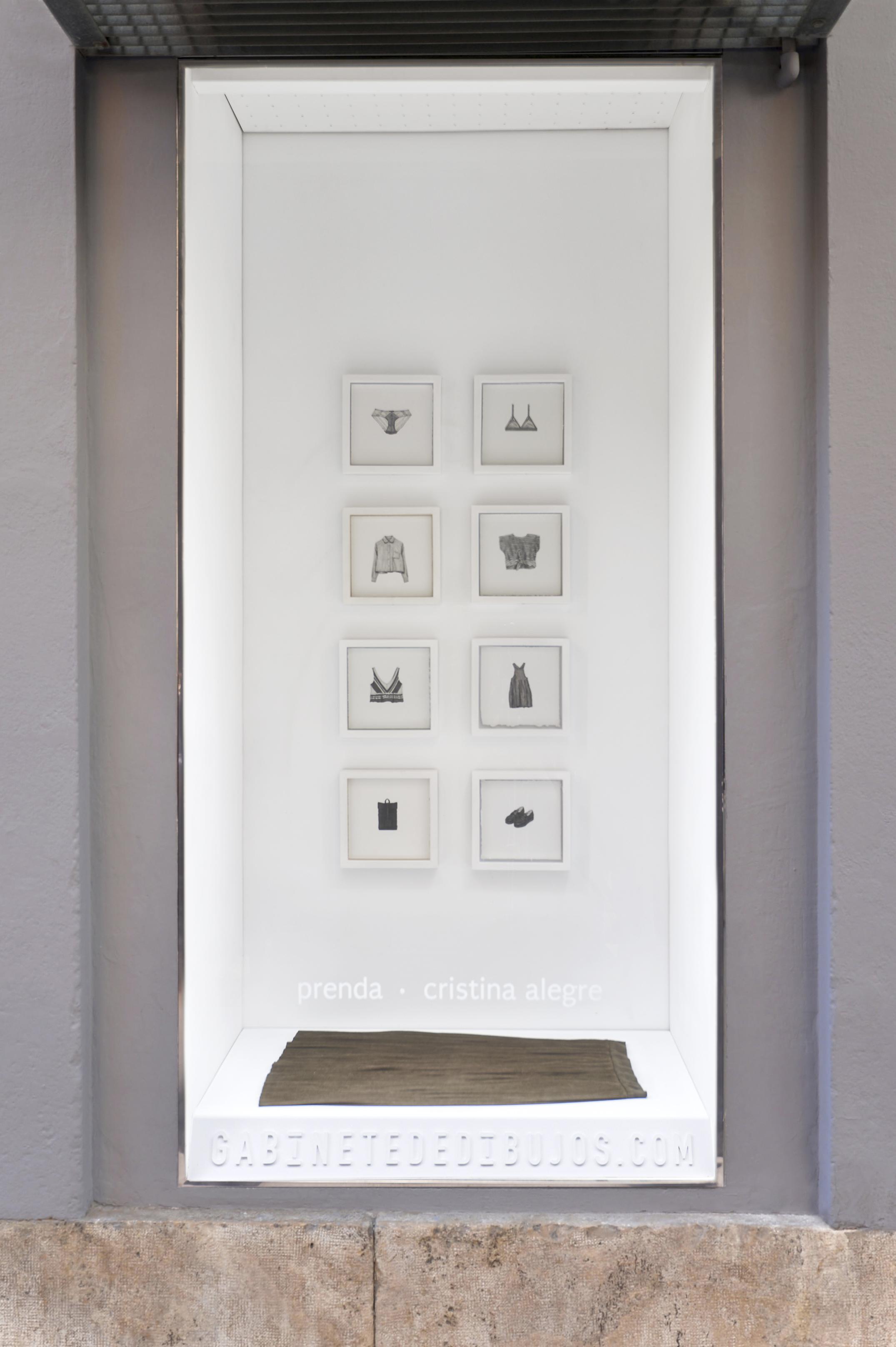 LENTO de Cristina Alegre en el Gabinete de dibujos
