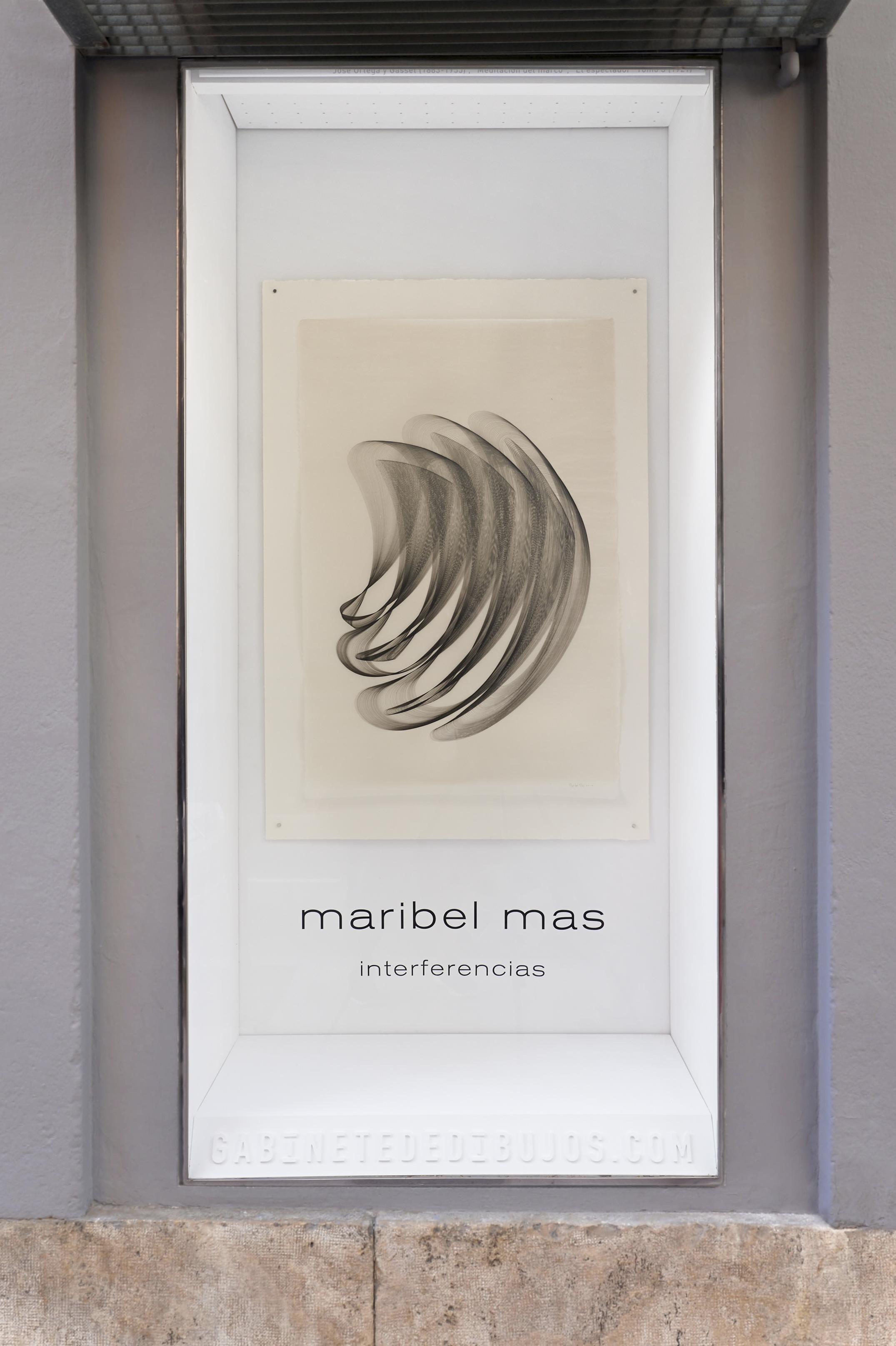 INTERFERENCIAS de Maribel Mas en el Gabinete de dibujos