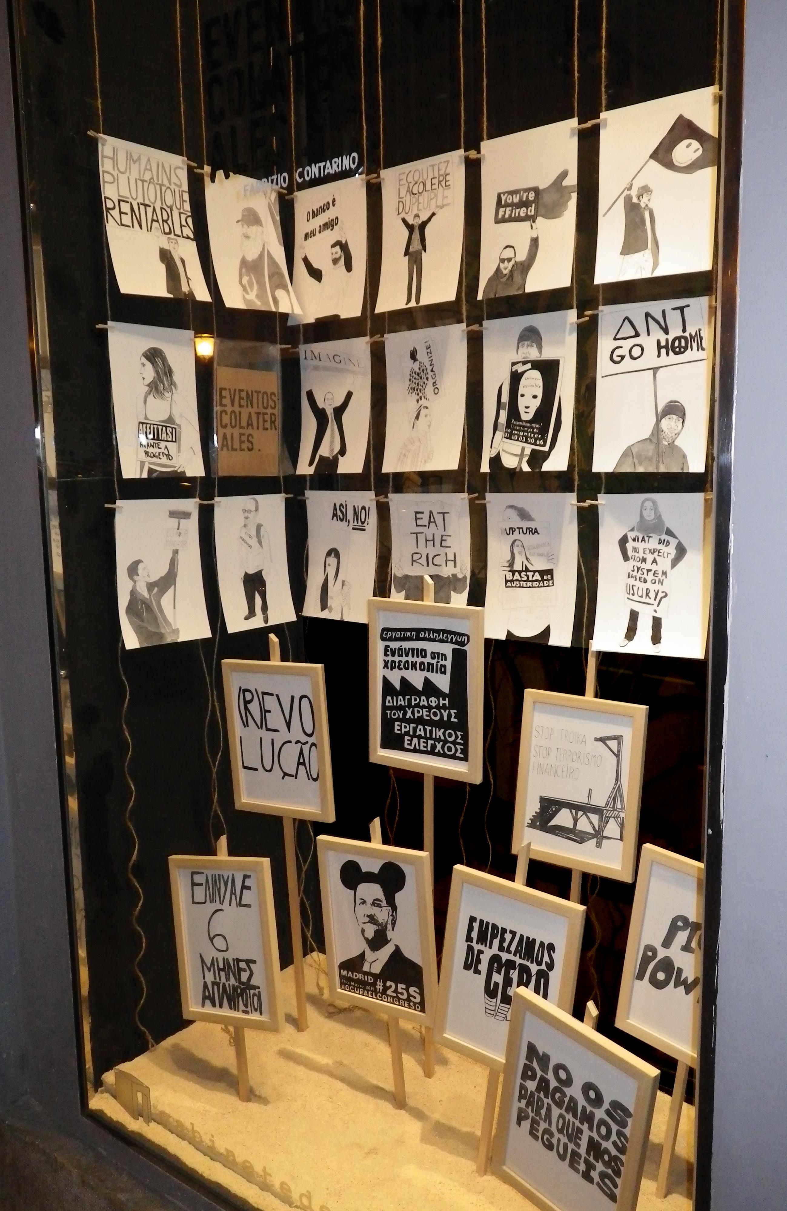 EVENTOS COLATERALES de Fabrizio Contarino en el Gabinete de dibujos